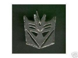 COOL Transformers Decepticon SILVER Pendant Charm Jewelry - $42.76