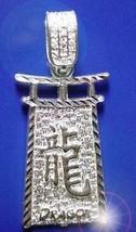 COOL Chinese Dragon Zodiac Pendant ARIES Jewelry Silver .925 - $22.75