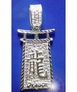 COOL Chinese Dragon Zodiac Pendant ARIES Jewelry Silver .925 - $22.75
