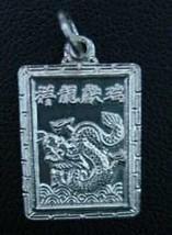 COOL Chinese Dragon Zodiac Pendant ARIES Silver .925 Jewelry - $20.99