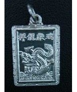 COOL Chinese Dragon Zodiac Pendant ARIES Silver .925 Jewelry - $20.99