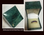 Suzanne vintage amethyst ring web collage thumb155 crop