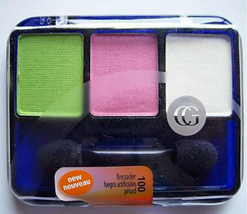 Covergirl Eye Shadow Trio Firecracker, pink, green, white full size 100  - $7.99