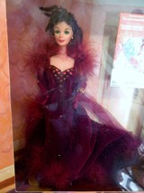 Gone with the Wind Scarlett Barbie Hollywood Legends Collection Maroon V... - $24.63
