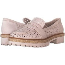 Nine West Gradskool Perforated Loafers 446, Off White, 9.5 US - $27.83