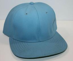 Trucker Hat Cap Blank Stock New Era Blue MED-LRG - $8.99