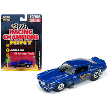1970 Chevrolet Camaro Funny Car Jungle Jim Blue Limited Edition to 3,200... - $13.95