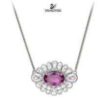SWAROVSKI Crystal By Shourouk Pendant Necklace retire Signed Authentic P... - $123.75