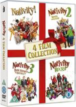 Nativity 1 2 3 4 Movies Collection Box Set 2009-2018 New 1-4 DVD *REGION 2* - $33.95