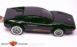 KEY CHAIN BLACK FERRARI 308 GTB/GTS TURBO CUSTOM LTD EDITION EUROPE HOT ... - $34.98