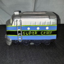 San Francisco Music Box Rotating Train Super Chief Plays Working on The ... - $46.74