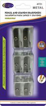 Metal Pencil Sharpeners - 3/Pack Case Pack 24 - $71.77