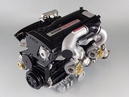 NISSAN SKYLINE GTR R32 RB26DETT 2.6L TURBO ENGINE 1/6 SCALE MODEL MADE I... - $504.96