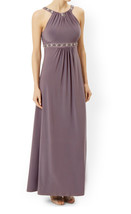 MONSOON Giselle Mink Jersey Maxi Dress BNWT - $102.74