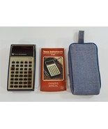 Vintage Texas Instruments TI-30 Calculator with Case & Instructions TEST... - $22.99