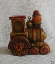 Hallmark Yesteryears 1976 Train Tree Trimmer Collection Ornament - $31.05