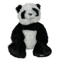 "Ganz Webkinz Black White Panda Bear Plush Stuffed Animal HM111 No Code 7"" - $20.79"