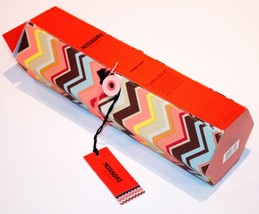 MISSONI for TARGET ZigZag WINE Carrier TIE Gift BOX Iconic - FREE SHIPPING - $94.97