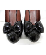 Viktor & Rolf Made in Italy Vogue Bow Tie Black Classic Pumps Shoes - $178.00