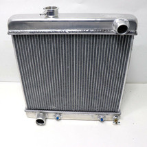 PWR RADIATOR Aluminum 64-66 Ford Mustang Muscle Car with Auto Trans USA ... - $199.99