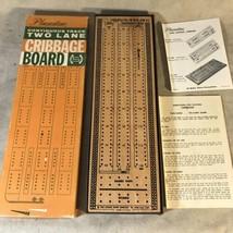 Pleasantime Vintage 1967 Wood Cribbage Board - $15.83
