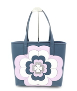 NWT Kate Spade New York Reiley Spade Flower Applique Leather Large Tote ... - $225.00