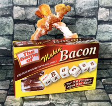The game of Makin Bacon - Dice game COMPLETE 2-6 Players - $9.89