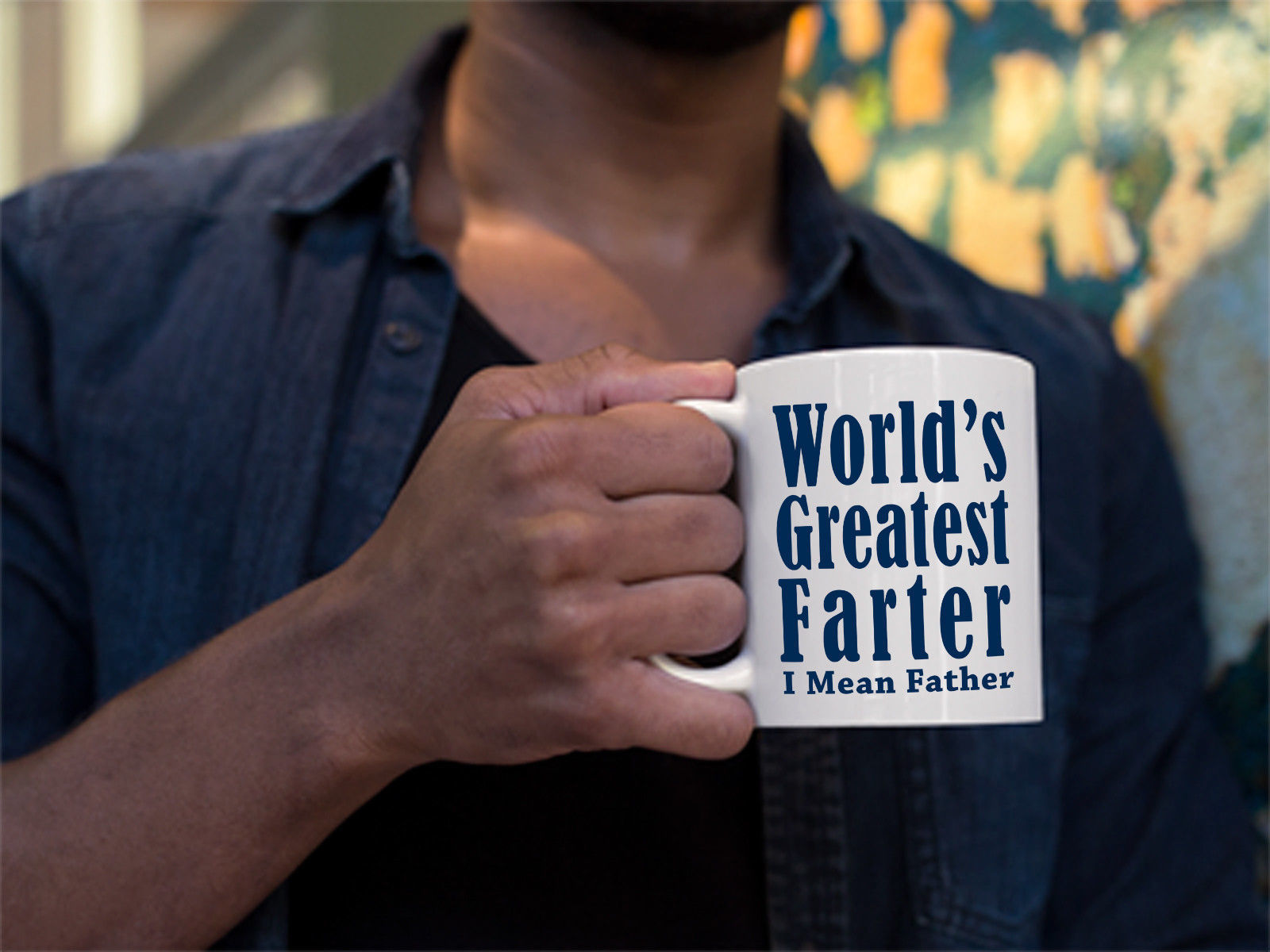 World's Greatest Farter-Best Funny  Fathers Day Gift for Dad Coffee Mug Tee Cup