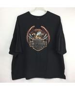 Harley Davidson Mens Size 4XL Dealer T-Shirt Crystal River Florida Eagle... - $24.99