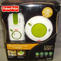 Sealed•Fisher-Price•Surround Lights & Sounds•Baby Monitor•2 Channel•500 ... - $16.99