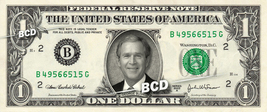GEORGE BUSH on a REAL Dollar Bill President Cash Money Collectible Memor... - $7.77
