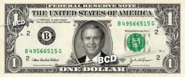 GEORGE BUSH on a REAL Dollar Bill President Cash Money Collectible Memorabilia C - $7.77