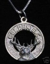 COOL Golden British Columbia Pendant Charm Canada - $18.35