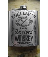 Lucille's saviors whiskey walking dead flask  - $20.00