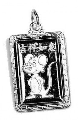 Primary image for COOL Chinese Rat Zodiac SAGITTARIUS Silver 925 charm Jewelry