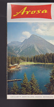 Arosa Switzerland Brochure 1960s Grisons - $16.00