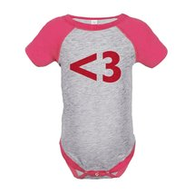 Custom Party Shop Kids <3 Heart Happy Valentine's Day 12 Months Pink ... - $20.58