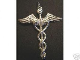 COOL Good Health Healing Celtic CADUCEUS PENDANT Jewelry - $35.57