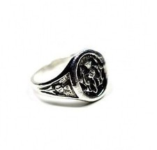 COOL New Scottish Celtic Thistle Ring Sterling silver 925 - $43.25
