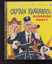 Captain Kangaroo's Surprise Party Little Golden Book 1st Print #341 - $15.98