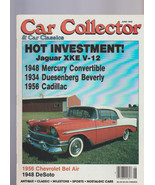 Car Collector & Car Classics June 1989 Jaguar Cadillac DeSoto Bel Air Me... - $15.01