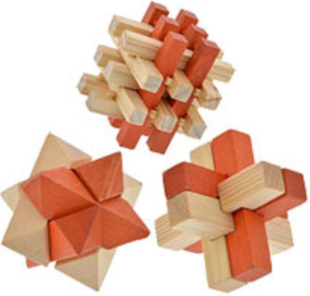 Brain Teaser 3D Wooden Puzzles, SELECT: Puzzle