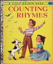 Counting Rhymes Little Golden Book (1st print) Connie Malvern - $13.99
