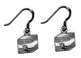 COOL kaabah Kaaba Allah Muslim Islam Earring Sterling Silver - $27.91