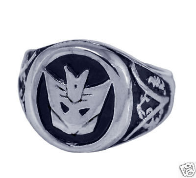 COOL New DecepticonTransformers Sterling silver .925 Ring