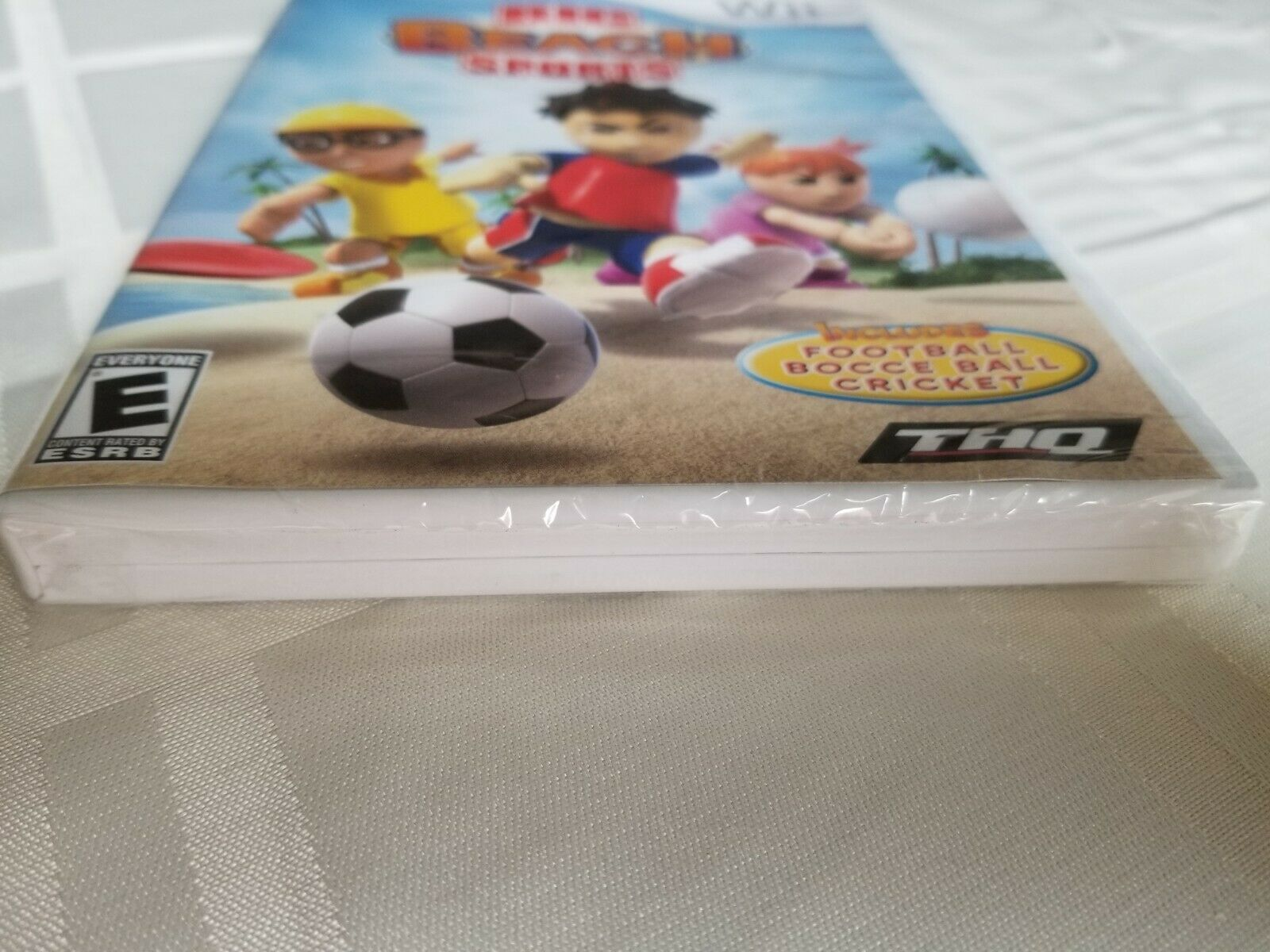 Big Beach Sports (Nintendo Wii )  BRAND NEW! Factory Sealed