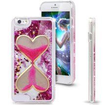 iphone 5/5S Liquid Case,Creative Sandglass Design Hybrid Dynamic Floatin... - $9.88