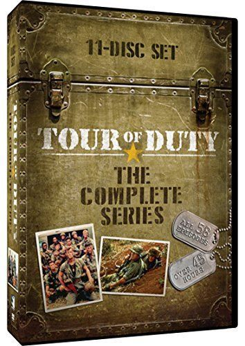 Tour Of Duty: The Complete Series (DVD Set) TV Show New
