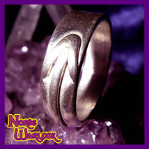 Tiwaz the Warrior Rune Ring! Courage Skill Knowledge Victory! Tyr Viking haunted - $149.99