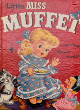 Little Miss Muffet & Other Nursery Rhymes Rand McNally Giant Book 1957 - $13.99